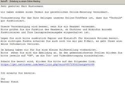Abbildung Einladungsmail